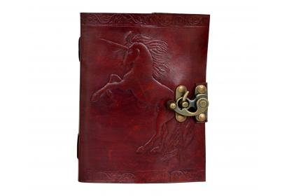 My Horse Large Handmade Leather Journal Diary Sketchbook for Horse Lovers